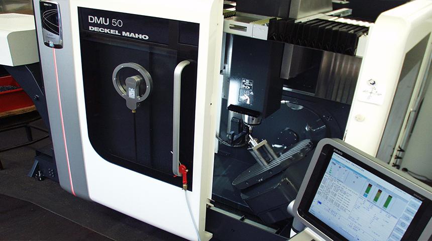 MAHO Universal – Fräs- und Bohrmaschine DMU 50