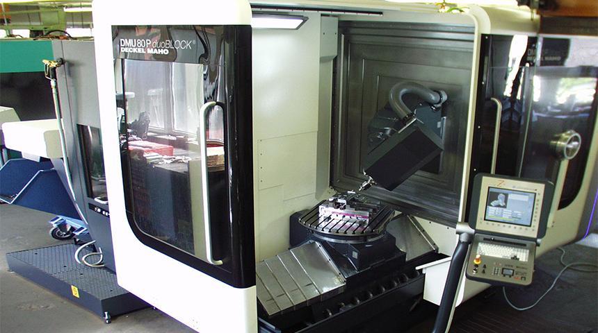 MAHO Universal – Fräs- und Bohrmaschine DMU 80 P duo Block
