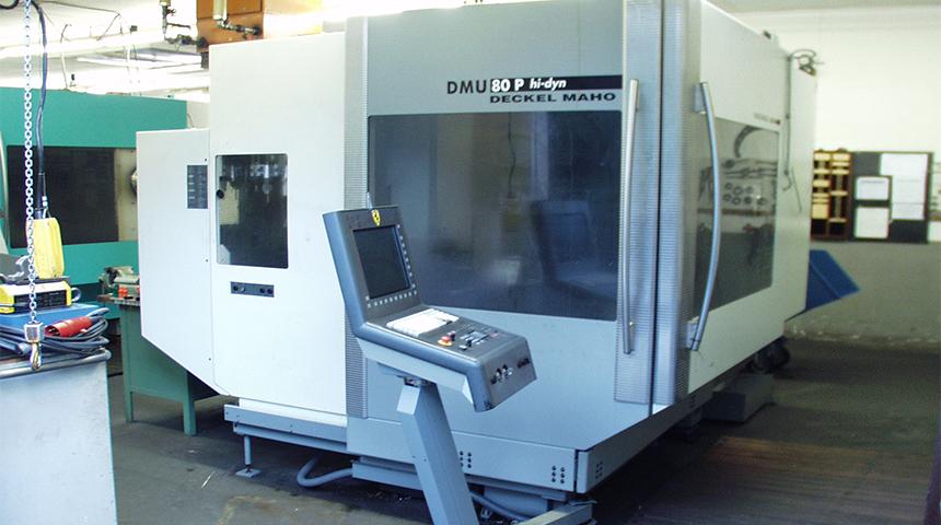 MAHO Universal – Fräs- und Bohrmaschine DMU 80 P hi-dyn