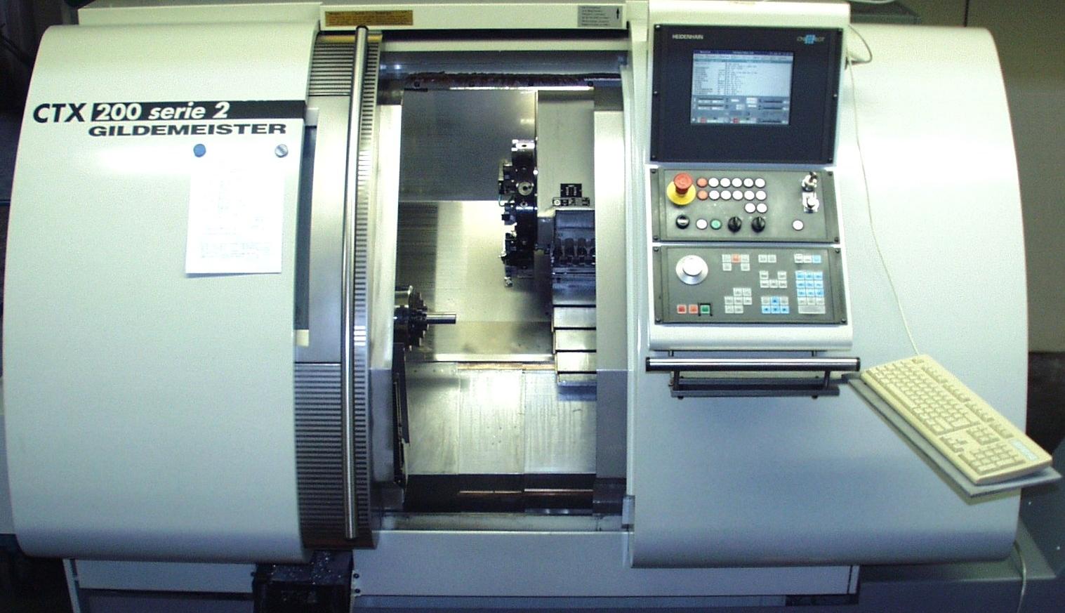 DMG Gildemeister CTX 200 CNC-Drehmaschine