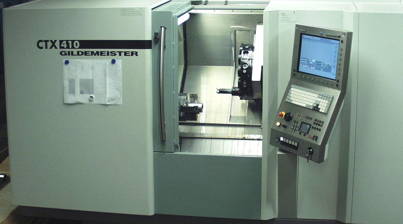 DMG Gildemeister CTX 410 CNC-Drehmaschine