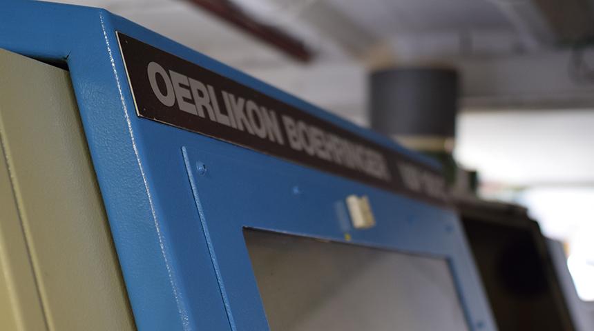 Oerlikon Boehringer VDF 180c CNC-Drehmaschine