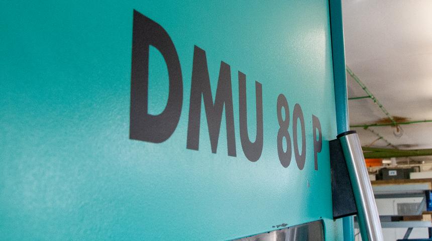 MAHO Universal – Fräs- und Bohrmaschine DMU 80 P