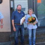 Nach fast 50 Jahren Zugehörigkeit zum Betrieb geht Harald Essinger in den Ruhestand
